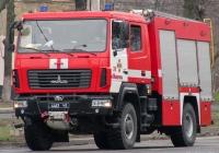 Пожарная автоцистерна АЦ-4-60 (5309)-505М. ул. Гугеля, Мариуполь, Донецкая обл.