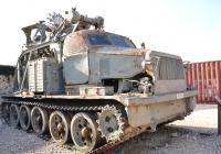 БТМ - Быстроходная Траншейная Машина. Израиль, Латрун, музей бронетехники
