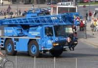 Автокран Liebherr, #DD-LL 19. Германия, Саксония, Дрезден