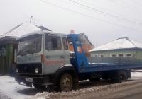 Эвакуатор на шасси Volvo F408 #С 215 КК 72. Тюмень, Союзная улица