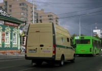 Инкассаторский автомобиль БМД-287302 на базе ГАЗ-A31R32 Газель-Next #У 016 ЕА 102. Тюмень, Комсомольская улица