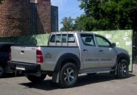 Пикап Toyota Hilux #В 999 МУ 124 . Тюмень, Вокзальная улица