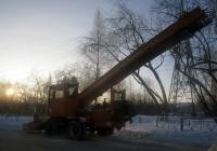 Лаповый снегопогрузчик КО-206М #7778 ТК 72. Тюмень, Аккумуляторная улица