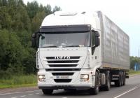 Седельный тягач Iveco Stralis #AI 4554 HK. Псков, Ленинградское шоссе
