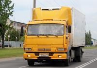 Фургон АФ-47415Е на шасси КамАЗ-4308-Н3 #К 509 КК 60. Псков, Инженерная улица