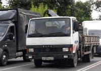Бортовой грузовик с КМУ Tata LPT613 #Х 129 КО 47. Псков, Рижский проспект
