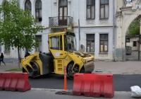 Каток Bomag BW 202 AD. Украина, Киев, бульвар Тараса Шевченко