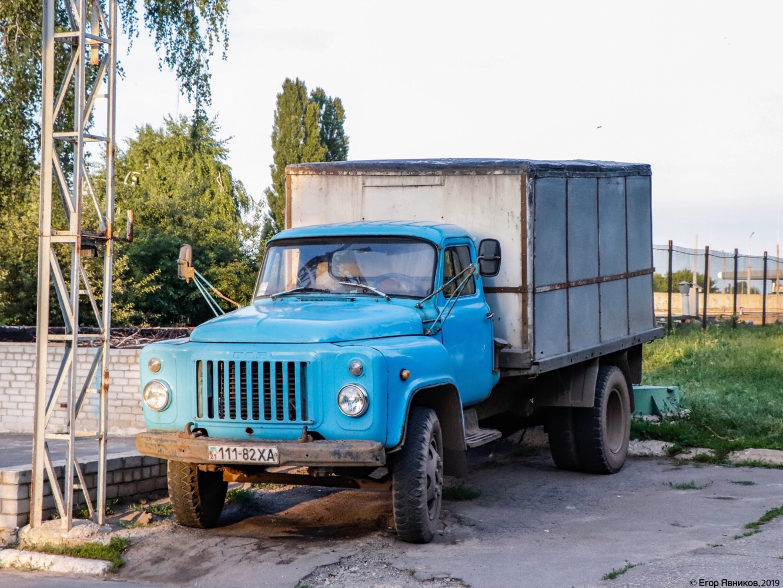 Автомобиль-фургон ГЗСА-3704 на шасси ГАЗ-52-01, #111-82ХА. Харьковская область, г. Харьков, улица Бучмы