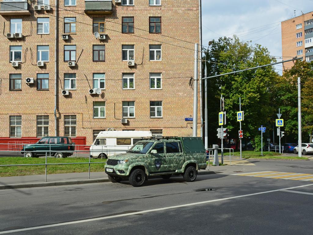 УАЗ Пикап №С 706 КА 799. Москва, Песчаная улица