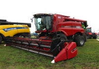 Комбайн Case IH Axial-Flow 6140. Алтайский край, Павловский район, в окрестностях посёлка Прутской