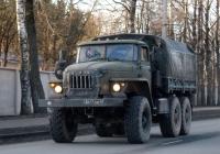 Бортовой грузовик Урал-4320 #8411 ЕВ 43. Псков, Юбилейная улица