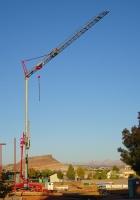 Башенный кран прицепной Igo MA21. St. George, Utah, USA