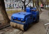 Дорожный мини-каток  4654 ВА 77 . Москва, 1-й Новоподмосковный переулок