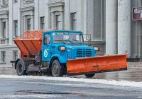 коммунальная машина КДМ-130 на шасси ЗиЛ-433362 #О037УУ163. г. Самара, площадь им. В. В. Куйбышева