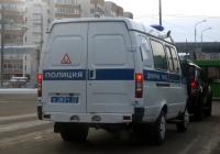 Автомобиль дежурной части ГАЗ-32215-АДЧ #В 2831 72 . Тюмень, Олимпийская улица