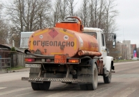АТЗ-36135-011 на шасси ГАЗ-3309 #У 002 КА 60. Псков, Инженерная улица
