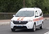 Автомобиль МЧС Renault Dokker #А 161 МУ 60. Псков, Крестовское шоссе
