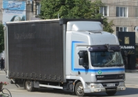 Бортовой грузовик DAF LF #821 MEZ 01. Курган, улица Куйбышева