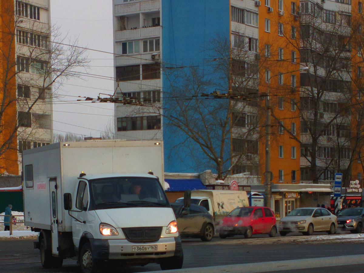 Модуль на базе ГАЗ-3310 №Т 360 ВУ 163. Самара, Ново-Вокзальная улица / Московское шоссе