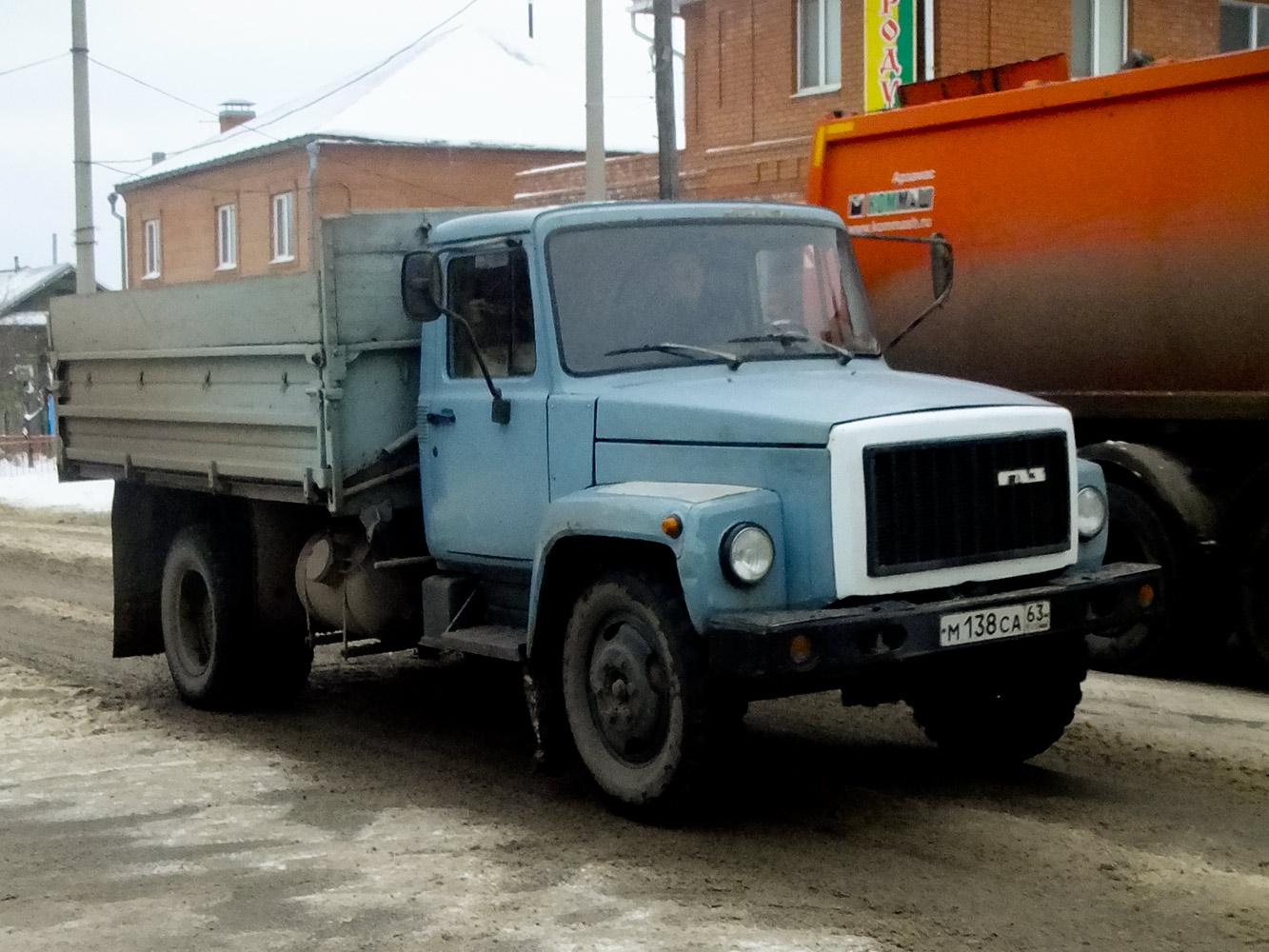 ГАЗ-3307 #М 168 СА 63. Самарская область, Сызрань, Советская улица