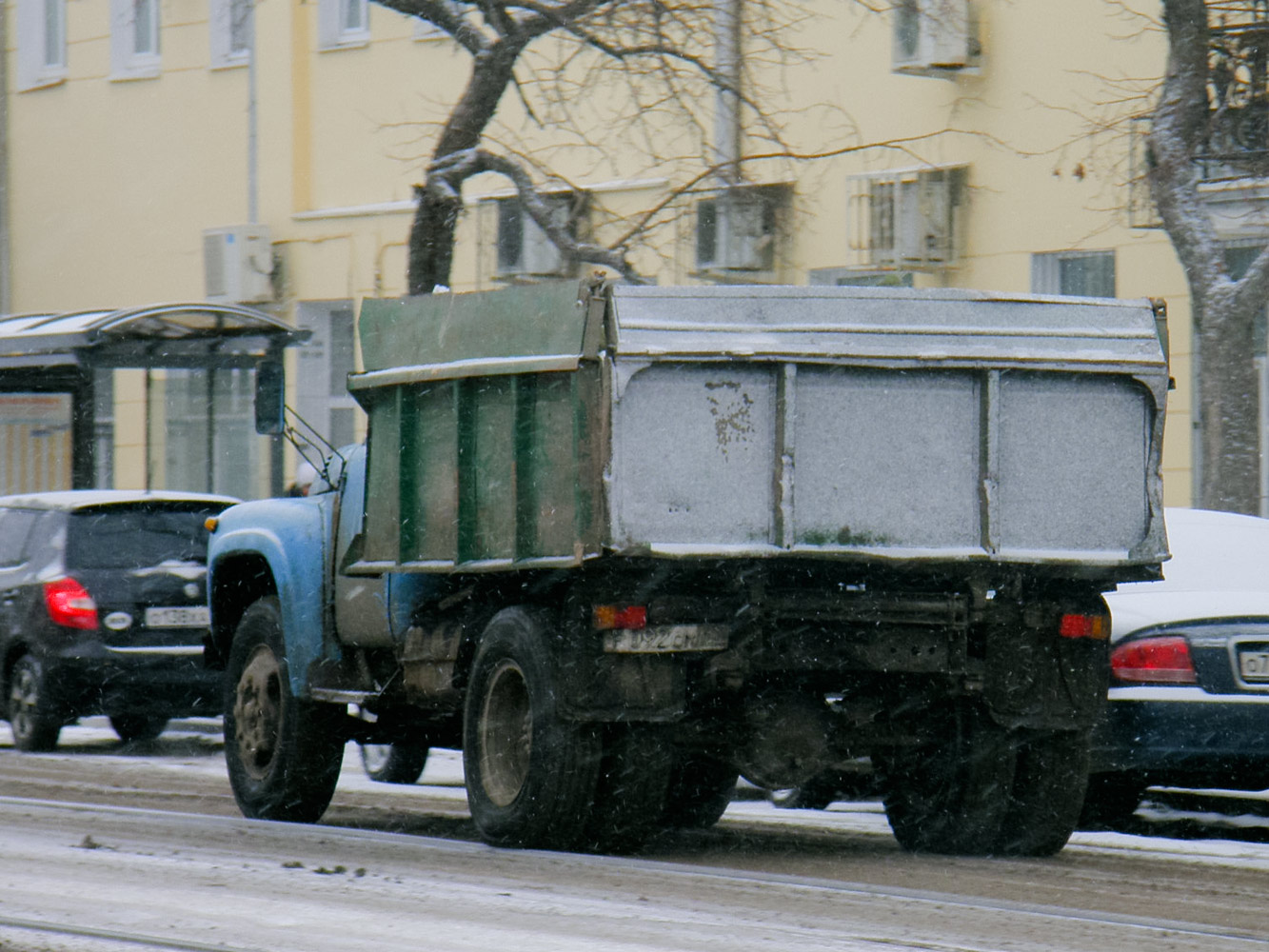 ЗиЛ-ММЗ-4502 #Р 092 СК 63. Самара, улица Фрунзе