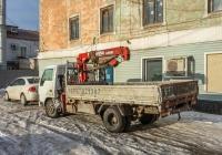 грузовой автомобиль Mitsubishi Canter 20 с гидроманипулятором Furukawa Unic 220 V-Turbo #А940КТ197. Самарская область, г. Сызрань, ул. Гидротурбинная