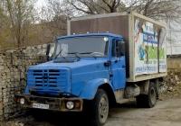 Фургон на базе ЗиЛ-4331 №М 431 ТР 163. Самара, Московское шоссе