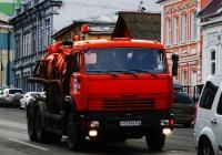 Ассенизатор КО-505А на базе КамАЗ-65115 №Т 471 РМ 163. Самара, Красноармейская улица