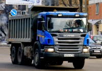 Scania P380 #О 656 РМ 163. Самара, улица Авроры