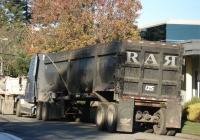 Самосвальный полуприцеп CPS trailers. Menlo Park, California, USA