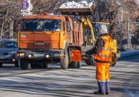 самосвал КамАЗ-55111 #К333ХН163. г. Самара, Волжский проспект