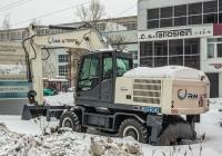 колесный экскаватор TEREX WX200. г. Самара, Московское шоссе