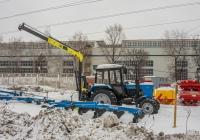 трактор МТЗ-82.1 Беларус. г. Самара, Московское шоссе