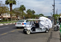 Гольфкар Carryall 6 Electric. Египет, South Sinai Governorate, Qesm Sharm Ash Sheikh, El Salam Road
