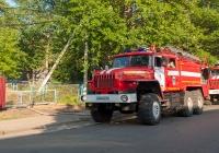 Автоцистерна пожарная АЦ 8,0 на базе УРАЛ-4320 №В894КК14RUS. Якутия, г. Алдан