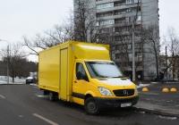 Промтоварный фургон Mercedes-Benz Sprinter Box Van #Н 484 КС 777. Москва, Полесский проезд