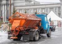 коммунальная машина КДМ-130 на шасси ЗиЛ-433362 #У963УР163. г. Самара, пл. им. В. В. Куйбышева