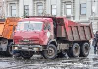 самосвал КамАЗ-65115 #У566РМ163. г. Самара, пл. им. В. В. Куйбышева