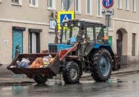 трактор МТЗ Беларус-82.1. г. Самара, ул. Молодогвардейская