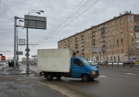 Фургон на шасси Volkswagen №У 709 МЕ 750 . Москва, Волоколамское шоссе