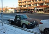 Мини-пикап Ford Ranger №А 802 ОА 799. Москва, улица 1905 года