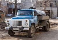 Вакуумная машина АНМ-53 на шасси ГАЗ-53-14 #Е956АК63. г. Самара, ул. М. Горького