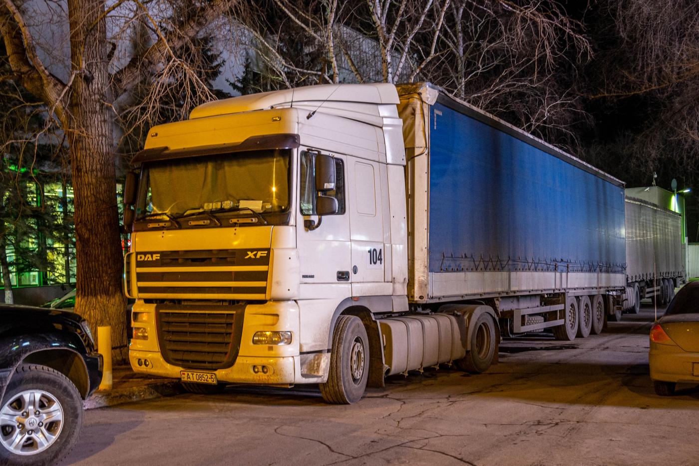 седельный тягач DAF XF 105.460 #BYAT0852-5. г. Самара, ул. Ново-Садовая
