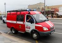 Пожарный автомобиль первой помощи АПП-2 (32591A) на шасси ГАЗ-27057. Москва, Москворецкая набережная
