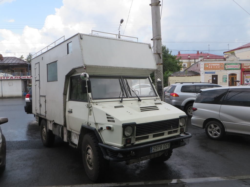 Кемпер  #2978 DGY.  Курган, Пролетарская улица