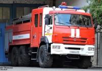 Пожарная автоцистерна АЦ-8,0-40(43118)-24ВР на шасси КамАЗ-43118-46  #У 666 КН 45. Курган, Автозаводская улица