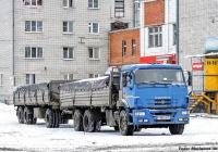 Бортовой грузовик КамАЗ-65117-N3 #Т 886 КВ 45. Курган, Половинская улица
