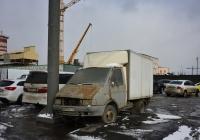 Фургон на шасси ГАЗ-3302 №М 839 АЕ 197. Москва, проспект Мира