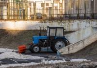 """трактор """"Беларус"""" МТЗ-82.1 . г. Самара, стадион """"Динамо"""""""