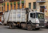 автомобиль для перевозки ТБО на шасси SCANIA* #Х794МХ163. г. Самара, ул. Ленинградская
